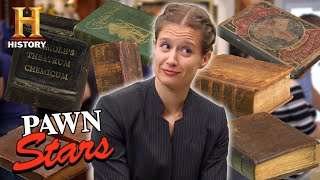 Pawn Stars: 11 RAREST BOOKS EVER FEATURED (Mega-Compilation) | History
