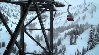 Tram ride at Snow Bird Utah USA