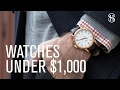 2 Watches Under $1,000: HSS On Time - He Spoke Style
