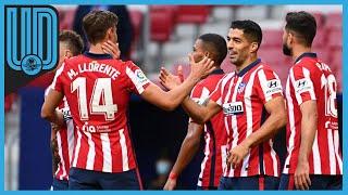 """Al uruguayo le bastaron 20 minutos como """"Colchonero"""" para dar una asistencia y hacer un doblete"""