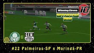 Winning Eleven 10: Estaduais 2016 (PS2) #22 Palmeiras-SP x Maringá-PR
