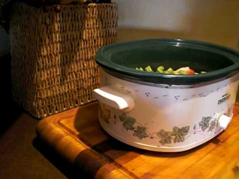 Easy Chicken With White Wine In The Crockpot