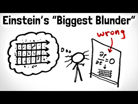 Einstein's Biggest Blunder, Explained