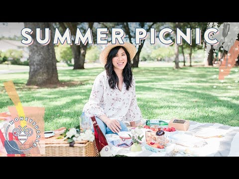 PERFECT PICNIC for Summer �� Honeysuckle