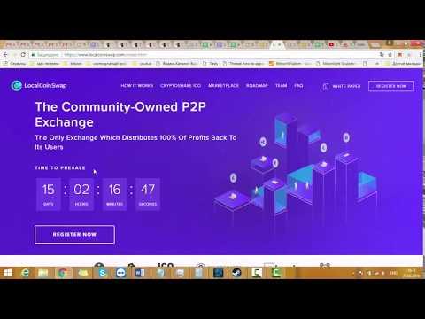Local coin swap - Единственный обмен, который распределяет 100% прибыли обратно своим пользователям