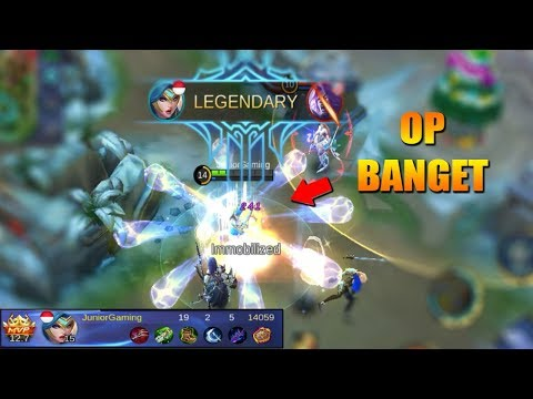 FREYA HERO PALING OP DI MAP CHRISTMAS - MOBILE LEGENDS INDONESIA