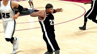 NBA 2K17 My Career 4K - Rising Stars Game! Ankle Breaker! PS4 Pro
