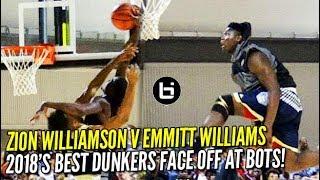 Zion Williamson v Emmitt Williams: 2018...