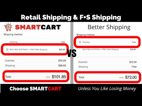 SmartCart vs Better Shipping
