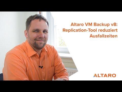 Altaro VM Backup in Version 8: Replication-Tool reduziert Ausfallzeiten