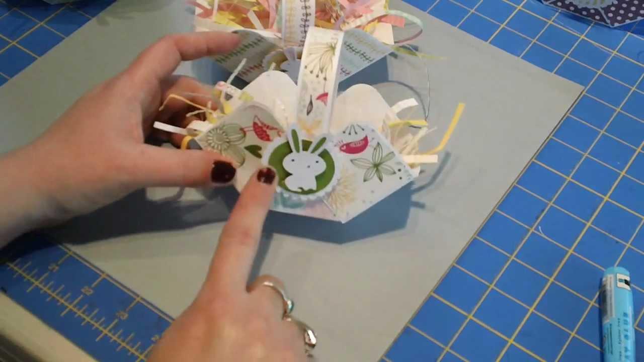 Easy Paper Easter Basket Youtube