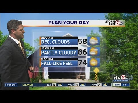 Forecast: Below-average temps set in; dry days ahead
