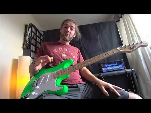 quincy-neon-series-full-size-electric-guitar-s-type-strat-shape-review