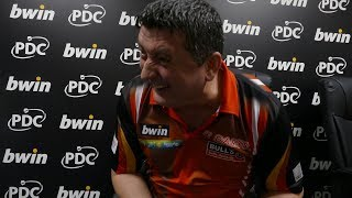 Mensur Suljovic doesn't believe he can win the Grand Slam of Darts