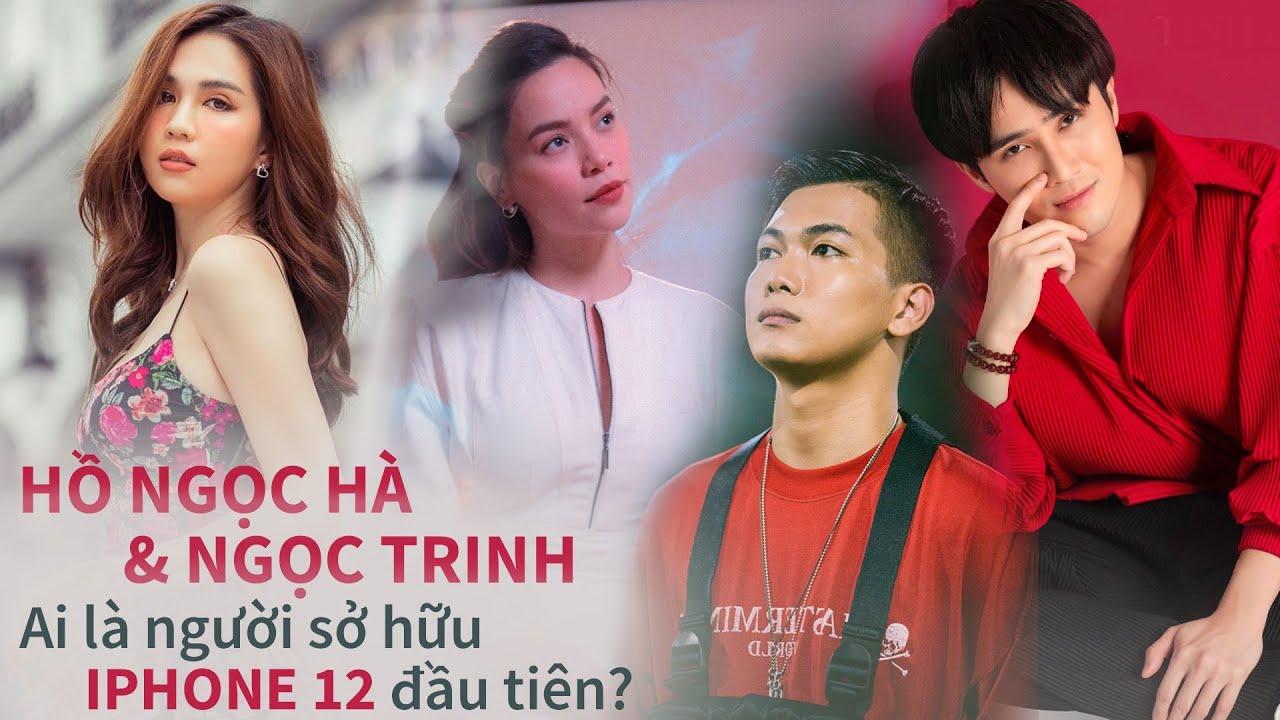 """Hồ Ngọc Hà, Ngọc Trinh hay ai mới là sao Việt """"SỞ HỮU"""" IPHONE 12 đầu tiên ở Việt Nam?"""