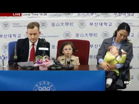 BBC expert Robert Kelly whose family hilariously crashed his interview hold press conference