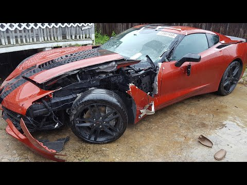 Bought A 2016 Corvette Stingray From Copart / Delivery Gone Wrong!!!??