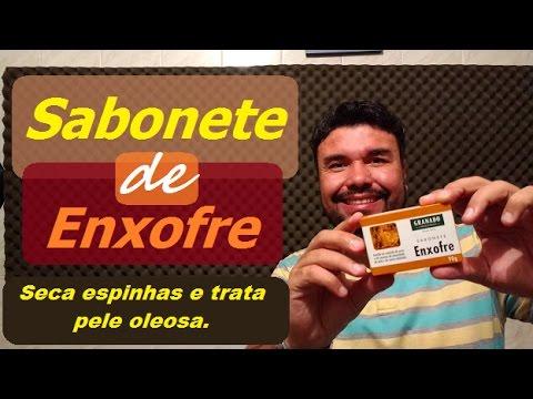 Sabonete de enxofre granado - Solução natural para pele oleosa e espinhas