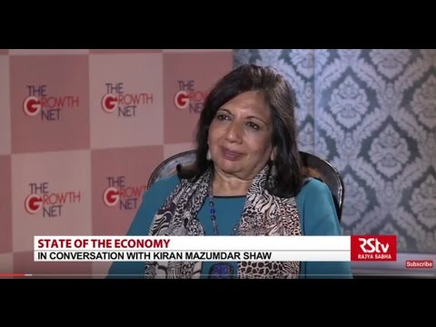 State Of The Economy with - Kiran Mujamdar Shaw