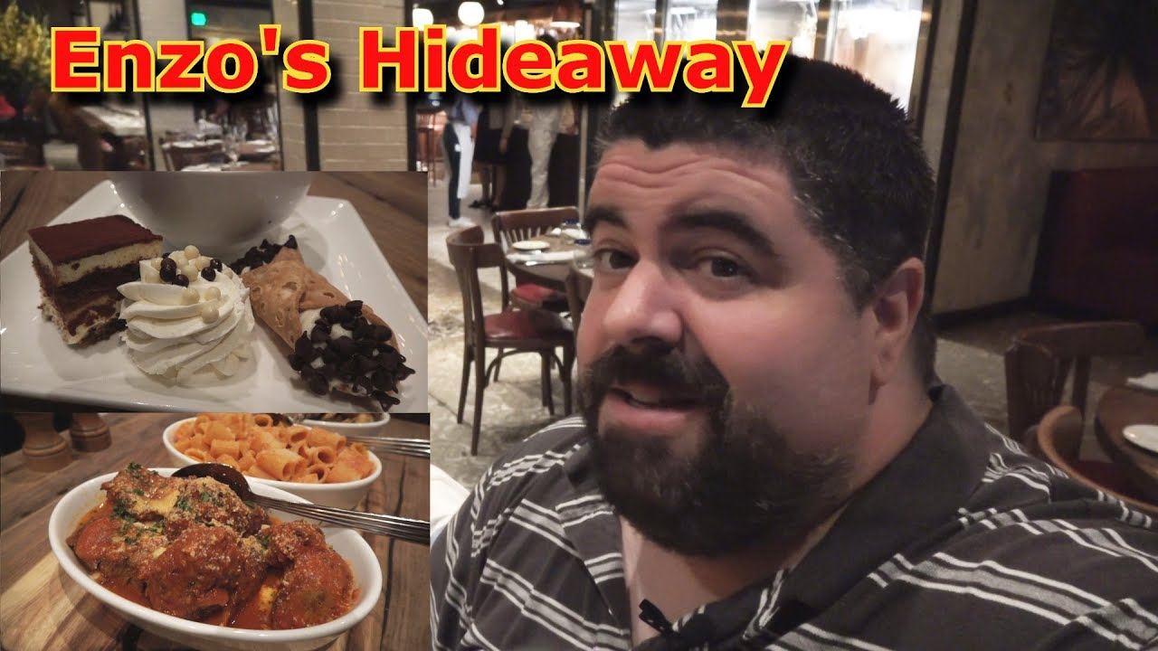 Sunday Supper at Enzos Hideaway is the best meal at Disney Springs Sunday Supper at Enzos Hideaway is the best meal at Disney Springs new foto