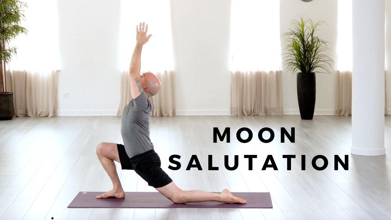 Moon Salutation Tutorial Youtube