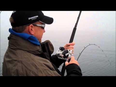 Catching Big Fish - Great Lakes Salmon Fishing, Sheboygan Wisconsin