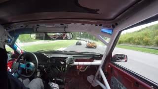 Stevo driving the #OBAMAexpress @ GP du Lac Chargoggagoggmanchauggagoggchaubunagungamaugg