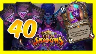 40 PACKS+LEGEND WIN STREAK | TOKEN DRUID | Rise of Shadows Hearthstone