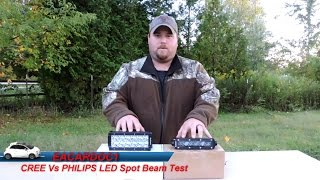 CREE Vs PHILIPS LED Comparison and Review (AUXBEAM)