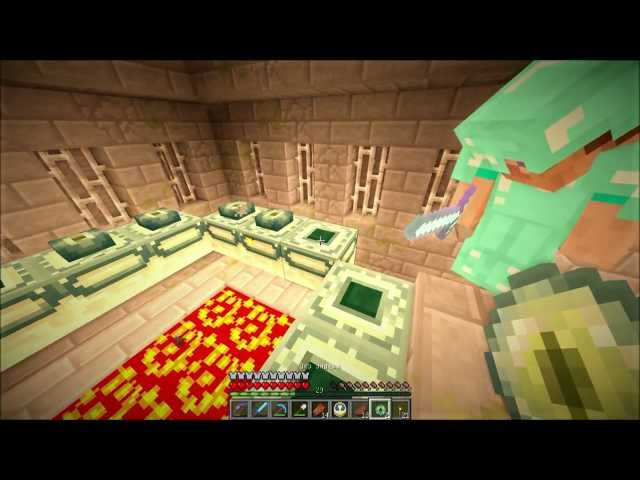 Смотреть прохождение игры Minecraft Big Trees Adventure. Серия 17 - Портал в край.