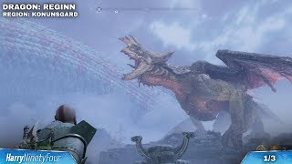 God of War - All Dragon Locations Guide  How to Free Them Dangerous Skies Trophy