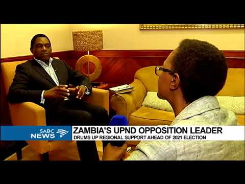 Download Hakainde Hichilema calls on SADC to support 2021 Zambia Elections