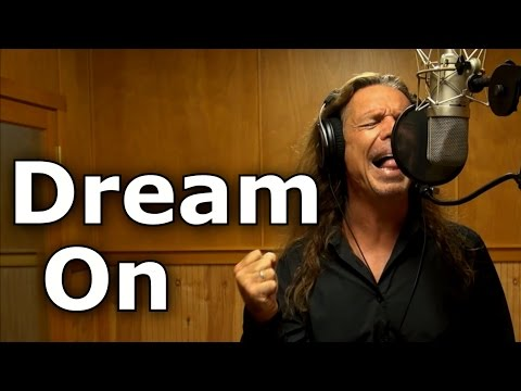 Dream On / Aerosmith / Steven Tyler cover by Ken Tamplin Vocal Academy