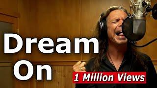 Video Dream On - Aerosmith - Steven Tyler cover by Ken Tamplin Vocal Academy download MP3, 3GP, MP4, WEBM, AVI, FLV Juli 2018