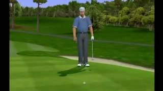 Tiger Woods PGA Tour 2001 PS2 Gameplay