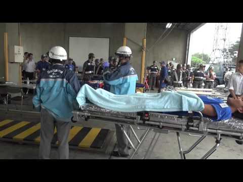 20150901 simulation exercise of wide area medical evacuation 広域医療搬送