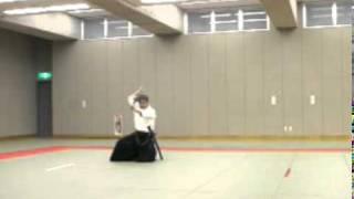 Koji YOSHIDA Nishio-ryu Iaido (Toho Iai no14)