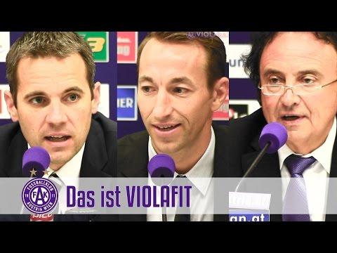 VIOLAFIT - Fortbildung beim FK Austria Wien