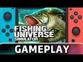 Fishing Universe Simulator | First 10 Minutes on Switch