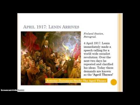 Provisional Government in Russia 1917