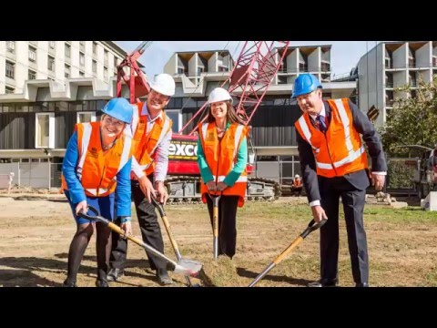 Dominion Constructors - University of Canterbury Structural Engineering Laboratory 2016