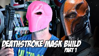 3D Printed Deathstroke Mask | Replica Prop Cosplay | Part 1 How to Make
