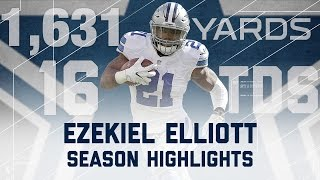 Ezekiel Elliott 2016 Rookie Season Highlights | Dallas Cowboys | NFL
