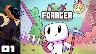 Forager Beta 6 gameplay