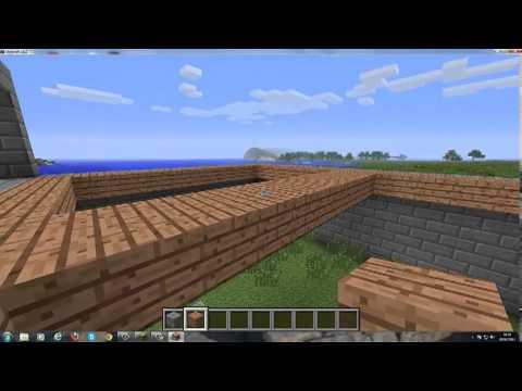 Come costruire una villa in minecraft ep 1 youtube for Come costruire una villa