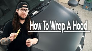 How To Vinyl Wrap Your Hood
