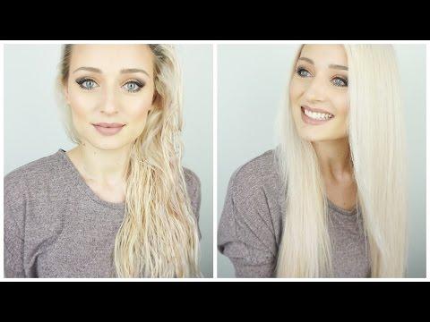 How to: Haare glatt föhnen | OlesjasWelt