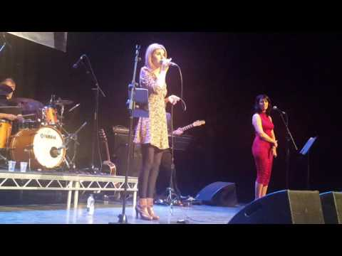 Donna Taggart Hallelujah/jealous of the angels live at the waterfront belfast