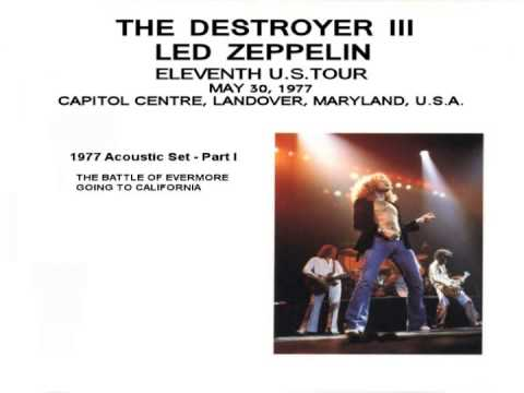 led zeppelin destroyer iii acoustic set part i youtube. Black Bedroom Furniture Sets. Home Design Ideas