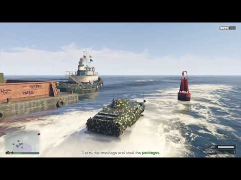 GTA 5 Online - Offshore Assets (Mobile Operation #4)